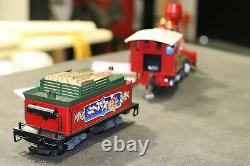 LGB 27182 2-6-0 Santa Christmas Loco MTS/MZS Plus 44730,34805,34815 TRAIN CARS