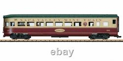 LGB 36591 Observation Car with Lights Napa Valley Wine Train New