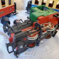 LGB TRAIN SET G Scale Complete 2774 Locomotive 16 Tracks 2 Cars 5003 Transformer