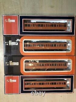 LIMA H0 COMPLETE JAPAN Bullet Train & Kokuden + 8 Freight Cars RARE MIB