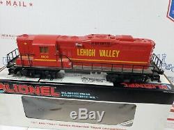 LIONEL DIESEL ENGINE # 8800, LEHIGH VALLEY 0-027 & 9288 Train Car