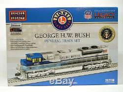 LIONEL GEORGE H. W. BUSH FUNERAL TRAIN SET O GAUGE #4141 president 2022050 NEW