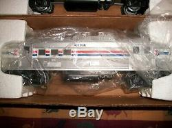 LIONEL O SCALE and 027 GAUGE AMTRAK 6-8868 THRU 6-8870 TRAIN CARS SET OF 4