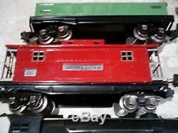 LIONEL PREWAR 226W 193W set 810 820 812 817 WORK TRAIN CARS Ex + As is