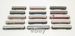 Large Vintage Marklin Toy Train Car & Locomotive Lot Santa Fe Western Rio Grand