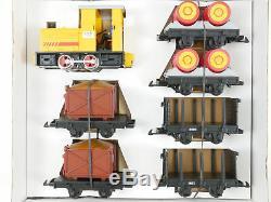 Lehmann 29145 LGB Field Train Set Diesel 6 Car Shell Top! Boxed 1607-30-54