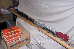 Lionel 027 1505ws Train set with Set box and car boxes