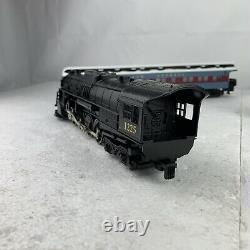 Lionel 1225 Polar Express American Flyer Steam Engine Train & 3 Passenger Cars