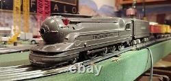 Lionel 1668E Locomotive Die-cast withTender & 6-Car Train 027-O Excellent Runs