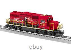 Lionel 2034220 Cars Lightning Mcqueen Lionchief Gp38 Diesel Engine Train O Gauge