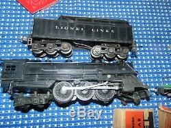 Lionel 226E 2-6-4 1938 Work Train set 193W Excellent condition with all cars