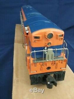 Lionel 2341 Jersey Central FM Train Master withBox and 3 Pass Cars Original