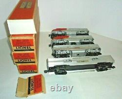 Lionel 2353 Santa Fe Passenger Set Aba And 4 Cars Vintage Postwar O Gauge