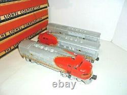 Lionel 2353 Santa Fe Passenger Set Aba And 5 Cars Vintage Postwar O Gauge