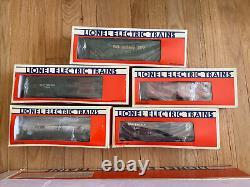 Lionel 6-8309 Southern Mikado Steam Engine Locomotive O Gauge Train 5 Car Set