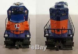 Lionel 6-8380 Orange & Blue Train Set SD-28 Diesel & 10 Cars EX to LN L632+