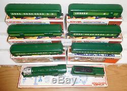 Lionel 8702 Southern Crescent Steam Locomotive 6 Car Passenger O Gauge Train Set