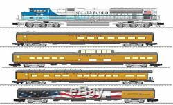 Lionel George Bush Funeral Train Set Sd70ace & 4 Passenger Cars 2022050