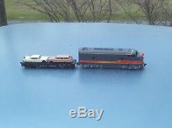 Lionel HO 1958 Postwar Freight Train Car Set 5709 Milwaukee Road Locomotive Box