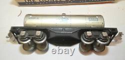 Lionel Lines PreWar 1688E Engine with Tender, Sunoco Oils, Caboose, Car Train Set