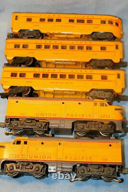 Lionel O Gauge 2023 Aa Anniversary Train Set With 2481, 2482, 2483 Passenger Car