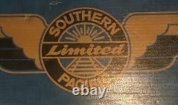 Lionel O Gauge 6-11710 Southern Pacific Limited Locomotive & Train Car Set 8 Pcs