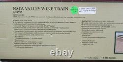 Lionel O Gauge NAPA Valley Wine Train 4 Passenger Cars only #6-31737U