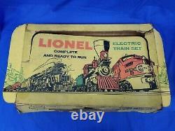 Lionel Postwar 1617S Train Set O27 5 Car Busy Beaver Steam Work Train