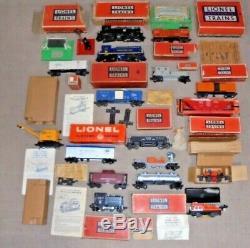 Lionel Postwar Big Lot Of Trains O Gauge Engines, Cars Great Deal For You + More