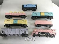 Lionel Postwar Girls Train Set 2037 Steam Locomotive Engine, Tender & 5 Cars