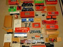Lionel Postwar Lot Of Trains O Gauge Engines, Cars Great Deal + More