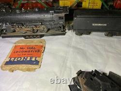 Lionel Pre-War 1940 1666, Tender, 2 Cars, Caboose, metal Train Set and more