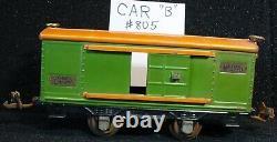 Lionel Prewar Train Set #294 w box, documentation, and 4 extra cars, no track