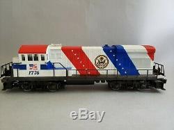 Lionel Spirit of 76 Complete Train Set-U36B locomotive, 13 state cars, caboose