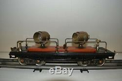 Lionel Standard Gauge Set 390E Loco, Tender and 7, 200 Series Work Train Cars