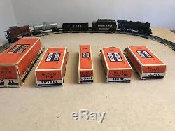 Lionel Steam Train Set Engine 2026 With Tender Gondola Tank Car And Caboose