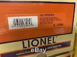 Lionel Tmcc Csx Motorized Speeder Car 6-37064 For Mth K-line Train Chessie