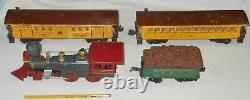Lionel Train The General 1862 Locomotive Tinder Freight Cars US Mail O Scale