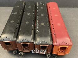 Lionel Trains 6-8555 6-8557 Milwaukee Road F3 A-A Diesel + fuel loco & 4 cars