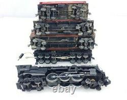 Lionel Trains Prewar 00 Gauge Train Set 004 Locomotive 003w Tender 3 Cars Track