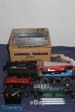 Lionel Trains RARE 19203X Promotional Locomotive/ Freight Car Set with OB