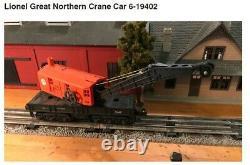 Lionel steam train set o gauge, locomotive, 11 cars, 10 buildings, power etc
