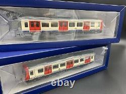 London Underground Bachmann 35-990 S Stock 4-car train pack