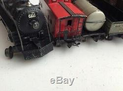 Louis Marx 3/16 Train Set With #999 Locomotive And 6 Cars