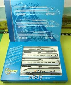 MEHANO HO EUROMED High Speed 4 car train 101 EMU RENFE boxed excellent (V)