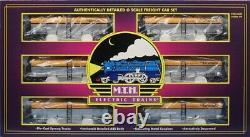 MTH 148 O Gauge 6-Car Tank Car Set Denver & Rio Grande Train Model #20-90088