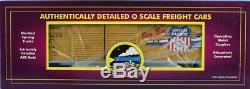 MTH 148 O Scale 50' Double Door Box Car 6-Car Set Union Pacific Train #20-90161