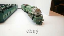 Mantua HO Train Southern RyLtd Diecast 4-6-2 Steam Locomotive/Rivarossi Cars