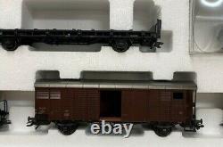 Marklin 26730 Swiss Crocodile with 7 freight cars Train Set. Limited