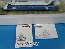 Marklin 3127 OeBB CFF Train Car Blauer Pfeil Blue Arrow RBe 2/4 DIGITAL ESU